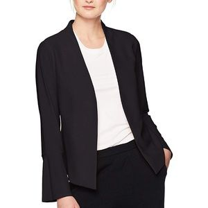 Adrianna Papell Small Black Bell Sleeve Jacket